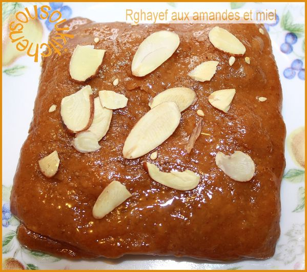 Rghayef aux amandes et miel 135