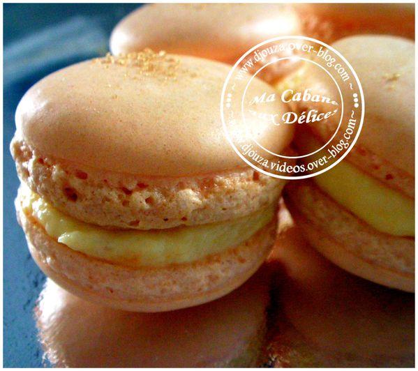 Macarons orange 001