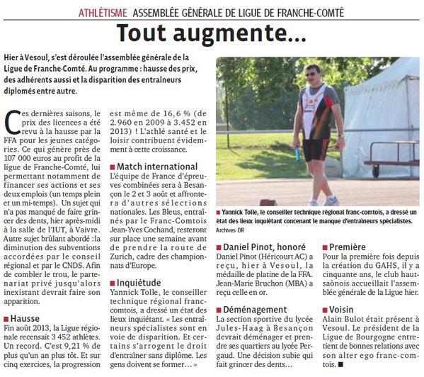 2014.03.30 progres AG Ligue