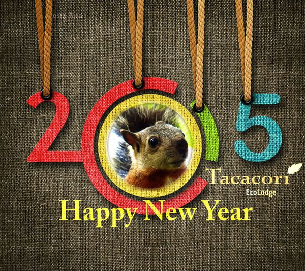 HAPPY NEW YEAR 2015 - TACACORI EcoLodge