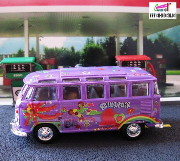 vw combi samba peace & love hippies maisto long (10)