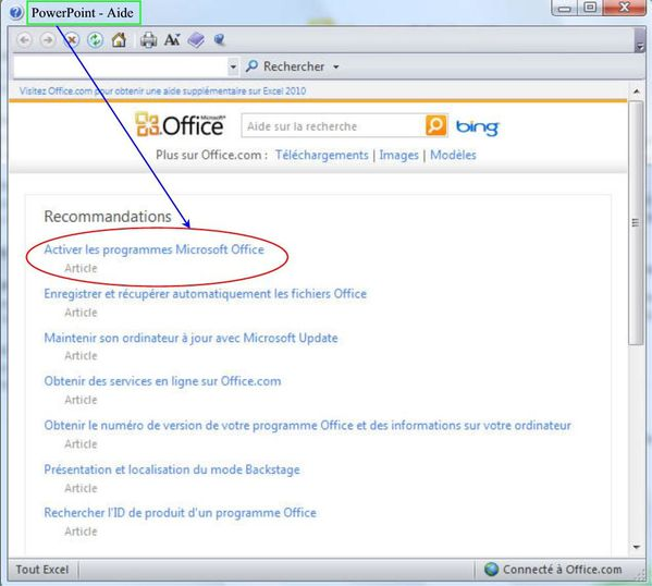 Tester le pack office 2010 pendant 60 jours le blog de - Telecharger pack office gratuit 2010 ...