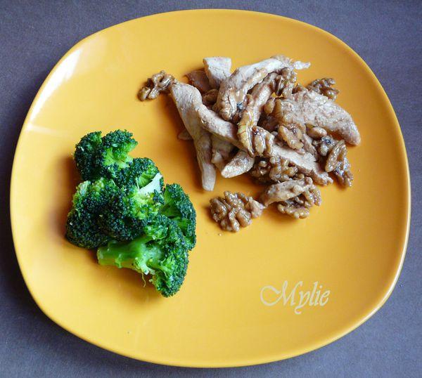 poulet aux noix caramélisées 1