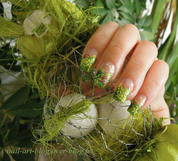 Easter nails 6465b