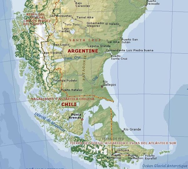 Patagonie sud