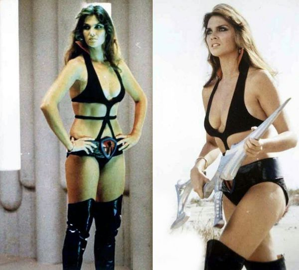 star crash caroline munro double