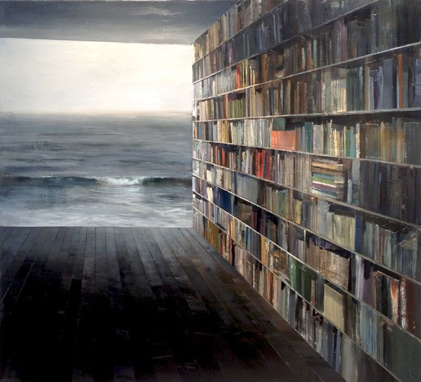 library%20with%20grey%20sea