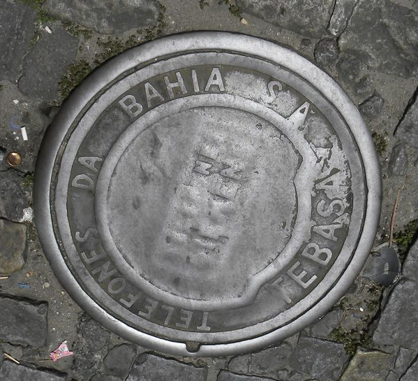Bresil Bahia Salvador Plaque1