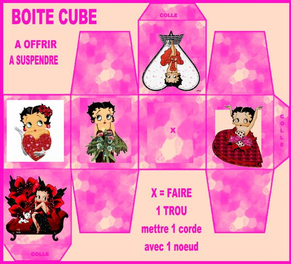 boite cube betty
