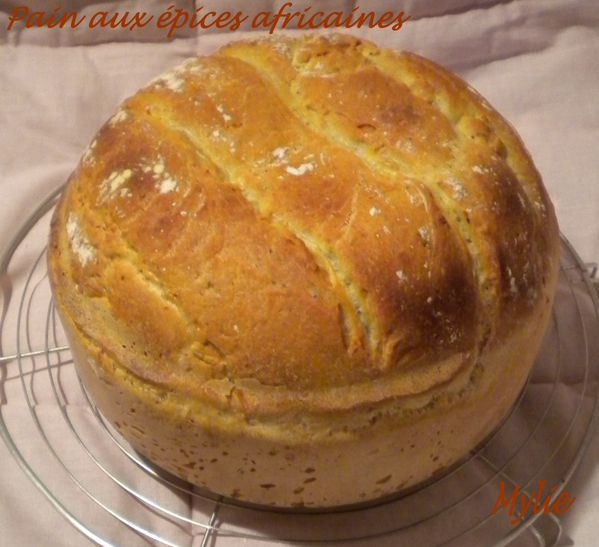 pain aux épices africaines 1