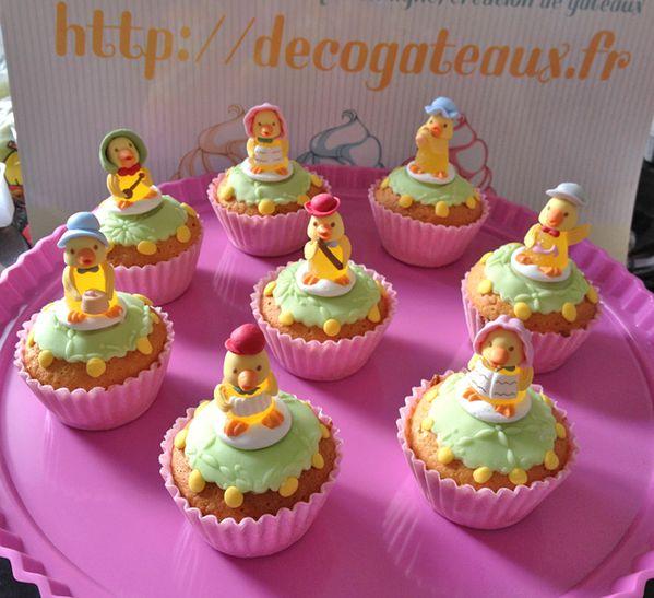 petit cupcakes de paques