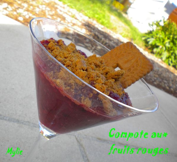 compote aux fruits rouges 2