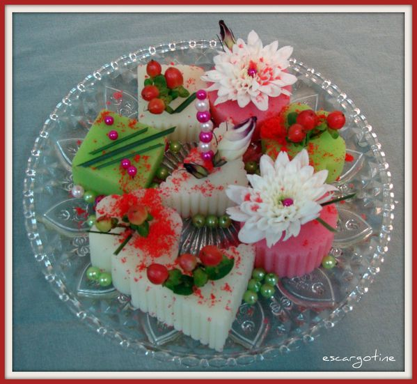 2011-06-30 table petits pois rayures - art bis floral tabl