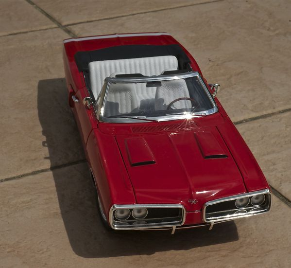DODGE CORONET CABRIOLET ROUGE YATMING16