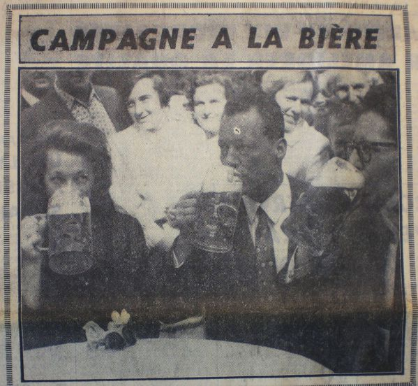 Campagne bière Willy Brandt 1965