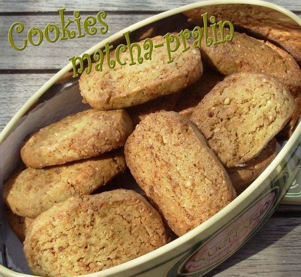 Cookies matcha-pralin2