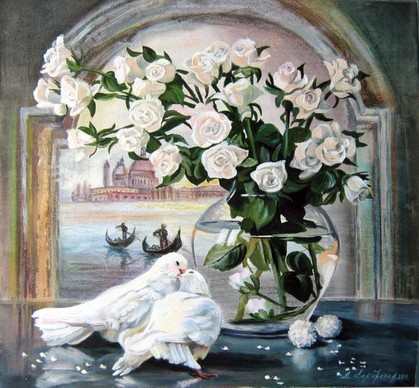 Tableau-venise-vase-roses-blanches-colombes-2-blanche-TB-bb.jpg