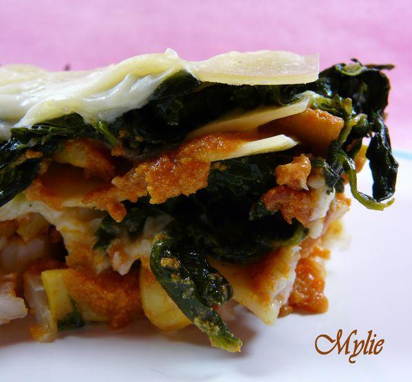 lasagnes épinards encornets 1