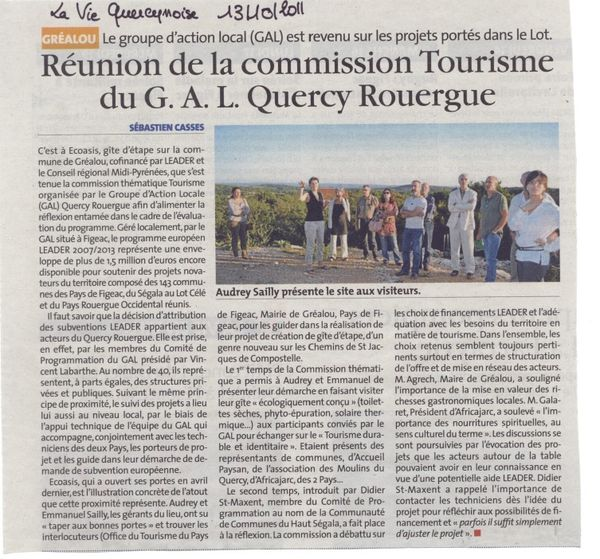 article commission tourisme 13102011