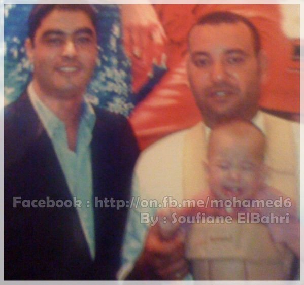 Moulay El Hassan et Mohamed 6
