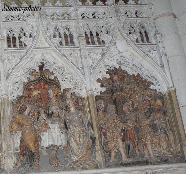 détail de la vie de Saint Jean Baptiste ( 2)