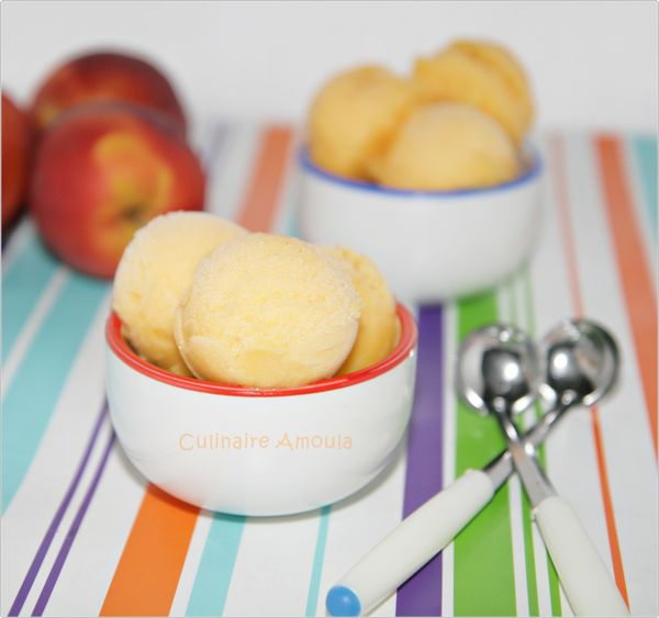Nectarine Sorbet Recipe — Dishmaps