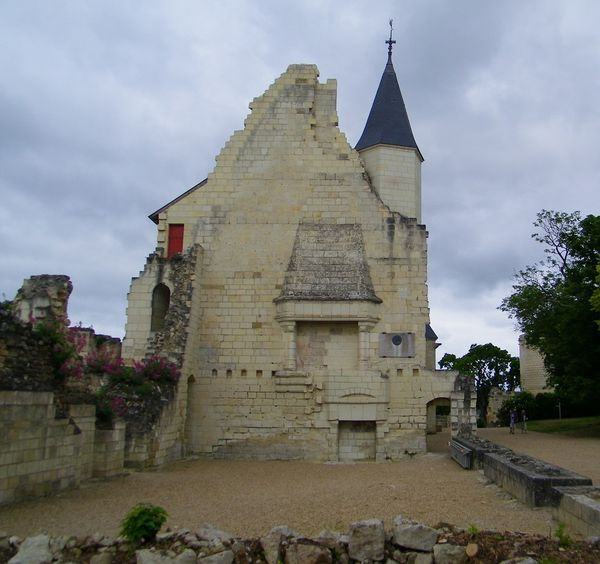 1609 Les logis royaux, 15th Century, Chinon