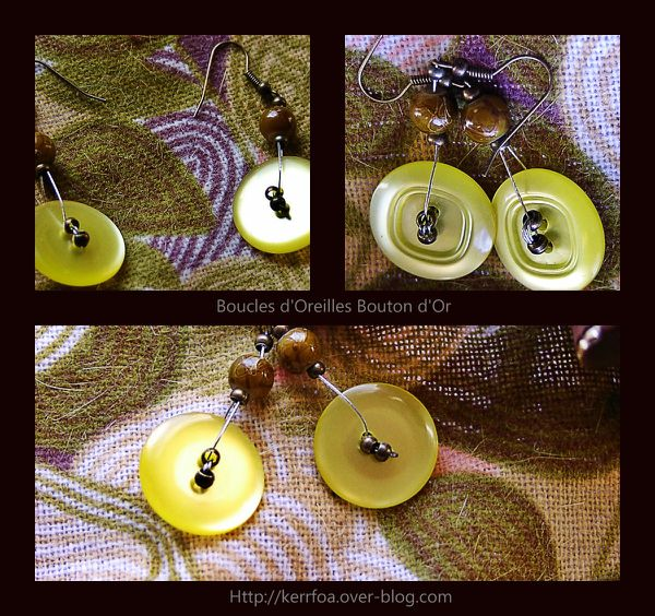 Boucles Boutons d'or23