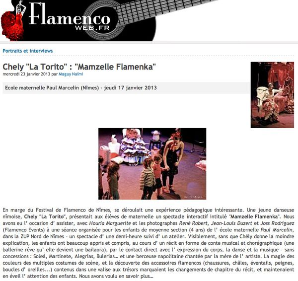 FLAMENCO WEB 1