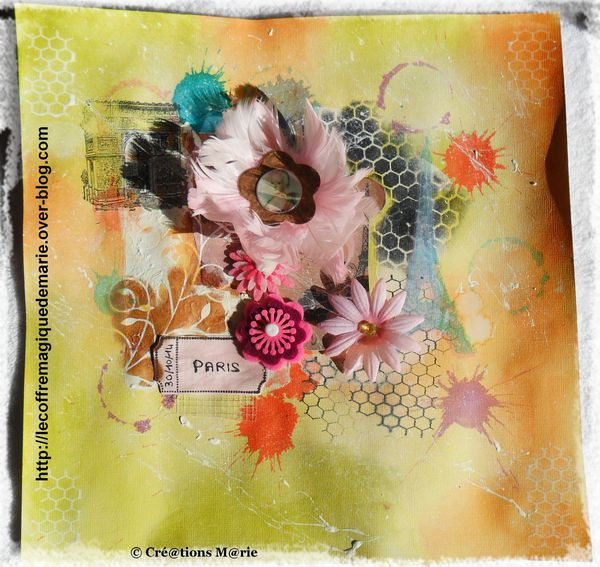 mixed media 1 (les lyonnes du scrap)