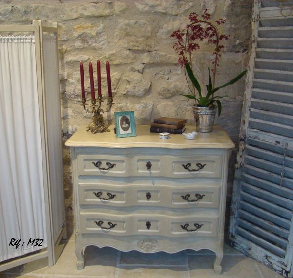 M32 commode arbal te ylg home style - Meubles blanc d ivoire ...