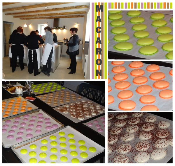 Cours macarons