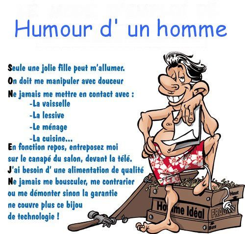 humour homme