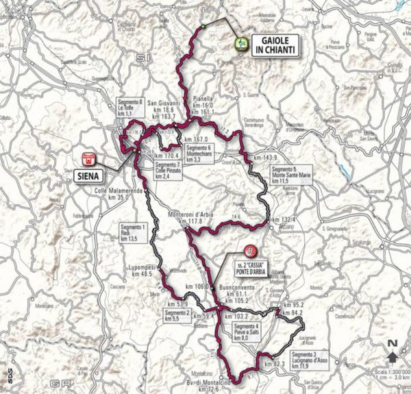 1103 Strade Bianche map