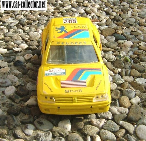 peugeot 205 turbo 16 rallye mira made in spain