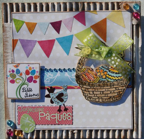 Carte challenge avril IS et Antre Scrap