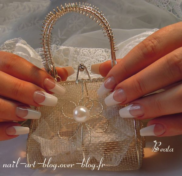 pose d'ongles mariage