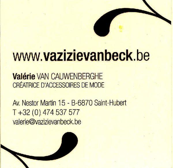 Carte de Visite de Valérie