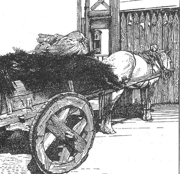 roues de canons Roue---traverse-mongole