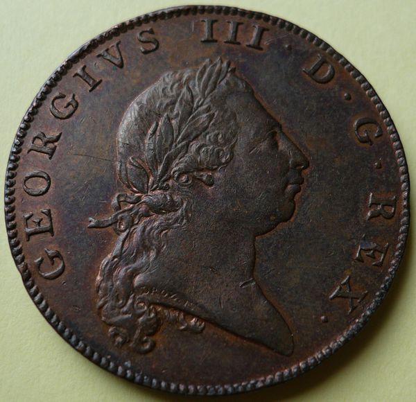 GIII buste BERMUDA 1793