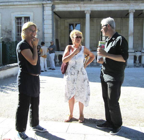 E2A l'Art à l'Air 2014 Axelle Gaussen, Jeanne Benameur, Gu
