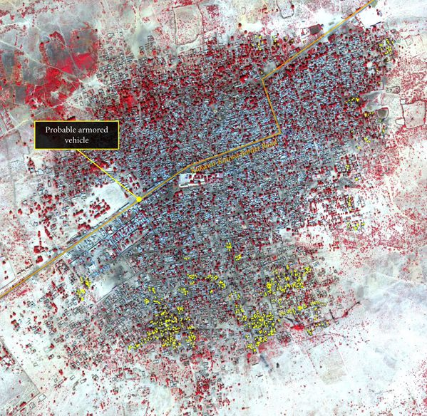 Digital Globe - Boko Haram - destruction Baga - 07-01-2015