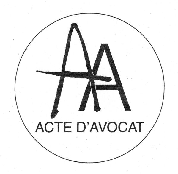 1105061056 SCEAU ACTE D AVOCAT