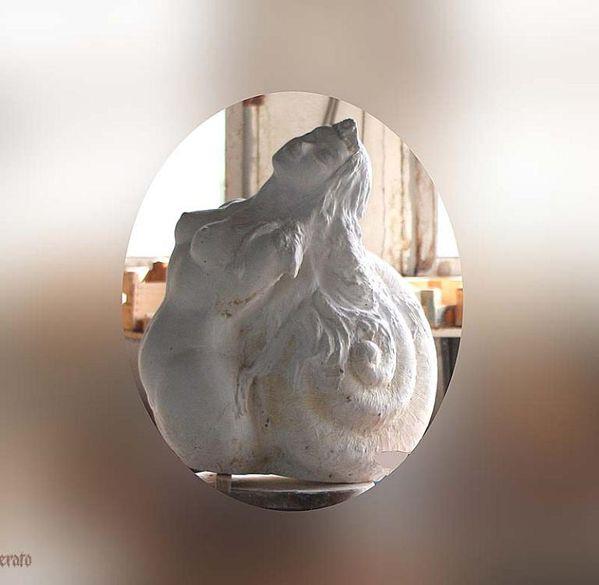 Sirene-sculpture-JM-Mathon-Pyrenoust-Erato 2 Ariège