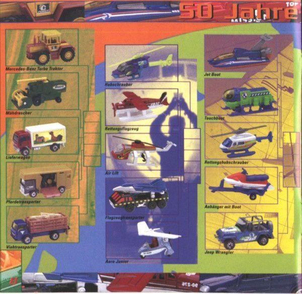 catalogue matchbox 2000 a10