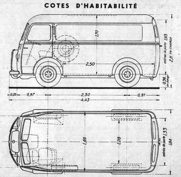 Peugeot DB3 - DB4 - l'Automobile n°113 Sept 1955 cotes