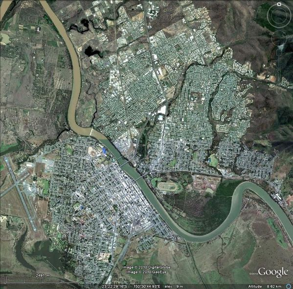 AUS Rockhampton 2010 GE2,5km