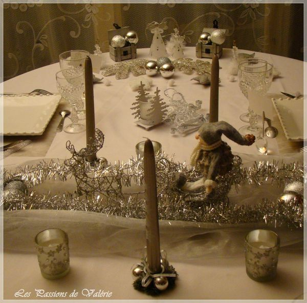 Reveillon de la saint sylvestre d co de table - Table reveillon saint sylvestre ...