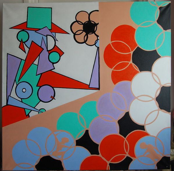 100x100 cm toile chassis 26,09,2009