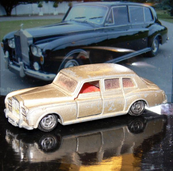 Matchbox Rolls Royce Silver Shadow 1979 Matchbox Rolls